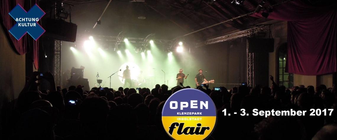 Open Flair 2017 | VielFühlFestival im Klenzepark Ingolstadt