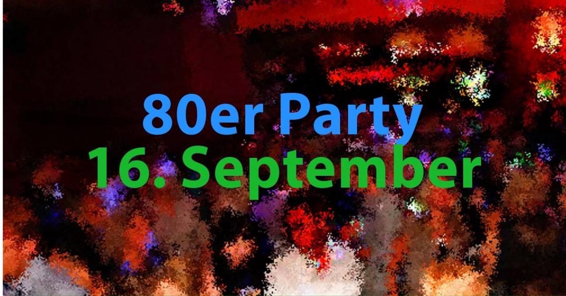 80er-Jahre Party im